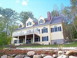 Immaculate Luxury Lakefront Home, Spectacular Long Lake Location, Bridgton,Maine