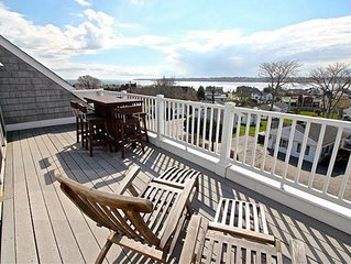 Luxury Beach House, Easton Point. Ocean Views,  2 Master BRs, Walk to Everything