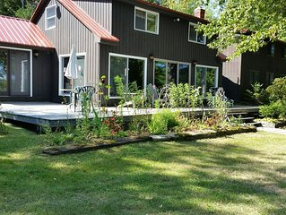 Lake Front Property- Private, with nearly 200 feet of unobstructed Frontage!