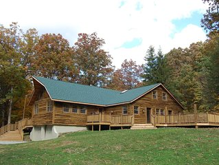 Breath Taking Lodge 3 miles from Nemacolin Resort &10 miles from Ohiopyle!