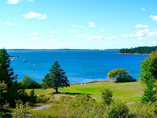 4BR Oceanfront Cottage at Acadia National Park w/Private Beach on 20 Acres