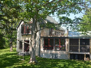 Year round waterfront retreat.  Beautiful house, big tides, magical setting