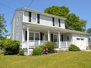 Beautiful New England Beach Home! Modern Amenities + All the Frills