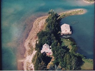 Private Peninsula in Downtown Hessel, Les Cheneaux Islands