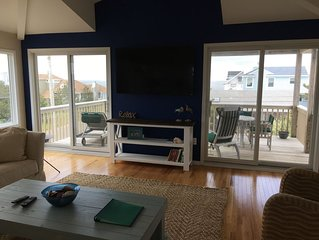 3 houses from Bay beach, 5 from ocean! with amazing views of each!!