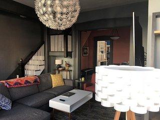 Beautifully Restored 3-Family House in Downtown Hudson, NY - Sleeps 16+