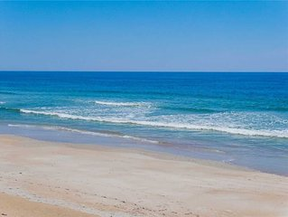 Oceanview! Private beach across the street! Linens included! Plus boat dock!
