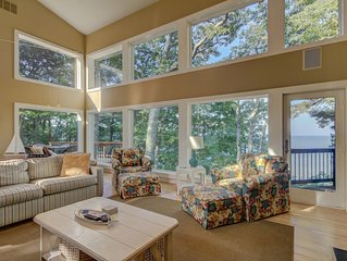 Luxury Home with Perfect Privacy right on Lake Michigan