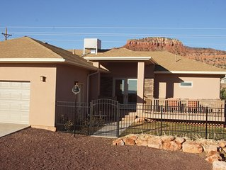 Spacious, over 2.5 acres with stunning views! A gem for two couples or families