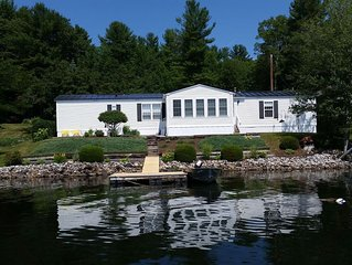 Charming House  13  feet from lake  with Breathtaking Water Views for Rent
