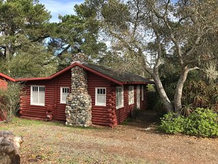 Classic Antique Cabin in Cambria - near ocean and forest