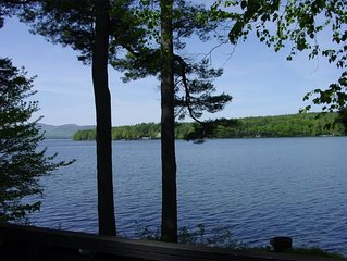 Winter Harbor, Lake Winnipesaukee, Sleeps 6 w/boat slip for 21'