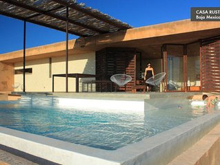 Modern Beach House with Pool - Todos Santos, Baja Mexico