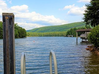 Welcome to Leisure Time!! Clean, Quite Cove, Great Lake & Mtn view w/WiFi