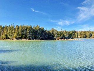 Ollie's Folly: Gorgeous Oceanfront Downeast Maine Home Near Acadia & Petit Manan