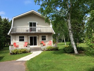 Beach, Golf, Relax & Enjoy Our Beautiful Stanhope, PEI Cottage for your vacation