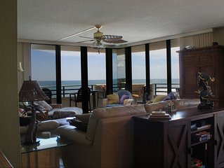 7th Floor End Unit - Right on the Beach