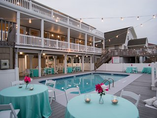 Oceanfront Pool Wedding Friendly 12 brms