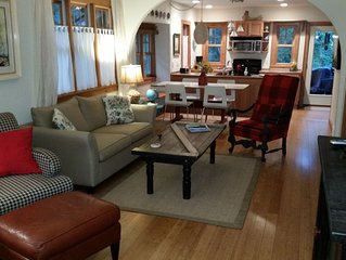 Charming, Updated Cottage On Hillside In Saugatuck