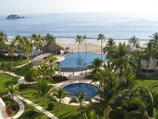 Amara Ixtapa, Luxury Oceanfront Condo, 6th Floor