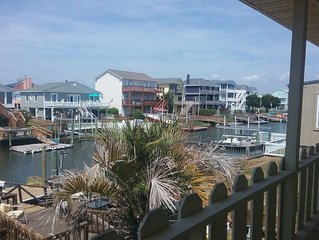 Available 8/11-8/15.$135nt. Canal at Holden! Very short walk to beach!