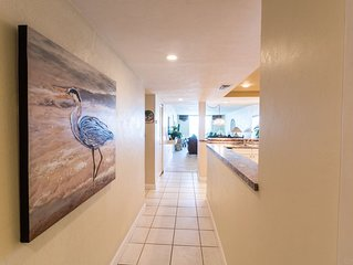 Beachfront Vacation Rental, Beautiful Views from the 2nd story balcony.