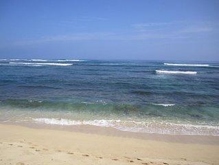 Quiet North Shore Beachfront Home