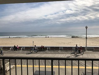 RENOVATED DIRECT OCEANFRONT CONDO ON CENTER OF BOARDWALK