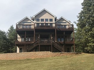 Breathtaking Views of Lake Hartwell with Private Dock Access