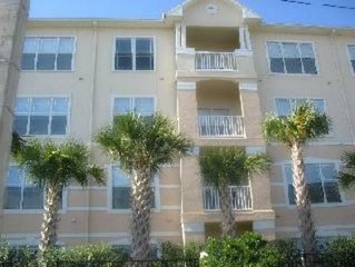 Luxury Condo2 bed 2 bath balcony gated with pool on bus line