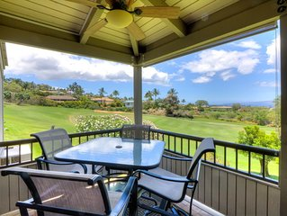 Panoramic Ocean View In The Heart Of Wailea On Golf Course