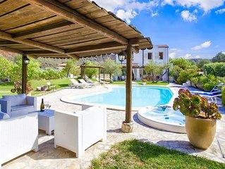 Alghero Villa Gioiosa con  SPA Idromassaggio Ideale per 10/12 persone