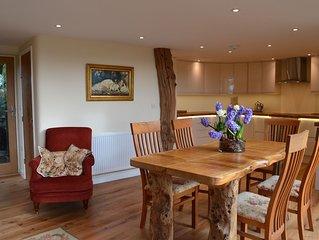 Detached , Luxury Oak House in open countryside