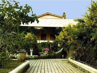 Villa Saracena vicina al mare con spazio aperto,  giardino forno e  Barbecue