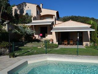 Villa avec Piscine securisee vue mer