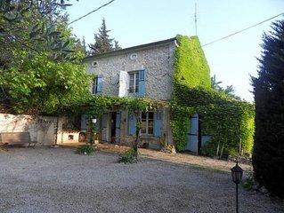 Chateaurenard: Charmant mas provencal avec piscine et jardin