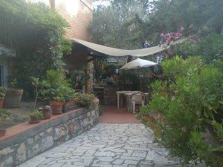 Casa con giardino nella  pineta di Marina