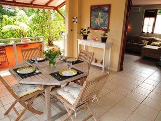 Martinique, ile aux fleurs - Tres beau F2 (deco soignee) pour des vacances zen e
