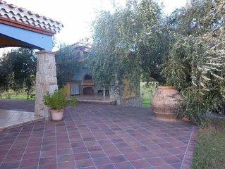 Casa/villa 'Il Girasole' 6/8 posti letto, indipendente- giardino/parco a pochiss