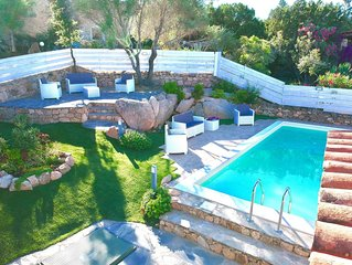 Wonderful Ginepro Villa, private pool, panoramic sea view,300 mt from the beach