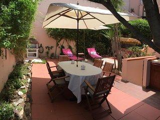 Villasimius-Villetta con giardino e WIFI gratuito- Sardegna
