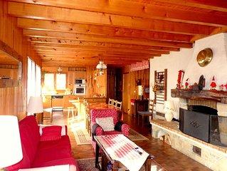 Chalet Grand confort - 9 personnes - à Samoens Haute Savoie - 4 chambres