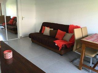 Appartement 3 Pièces bord de mer, Rez de jardin - Villers / mer
