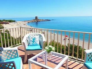 appartamento in Villa esclusiva con giardino confinante con la celebre spiaggia