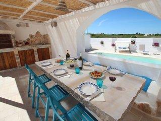 Trullo Il Grano, private pool, romantic and charming