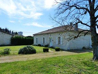 Le Bouzigot : GRANDE maison de caractère région Toulouse PISCINE vue imprenable.