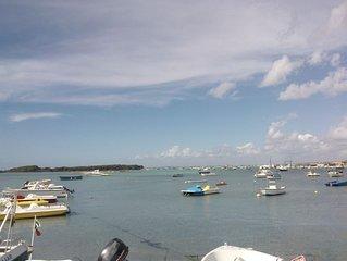 Vista mare su l'isola dei conigli, vicino a spiagge e centro