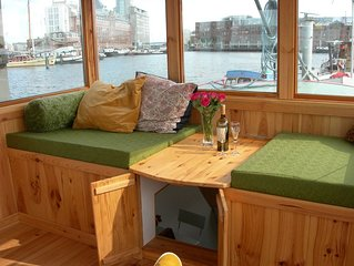 Cozy and romantic apartment in captain's steering cabin