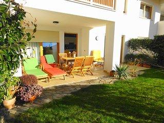 Appartamento con giardino recintato in posizione centrale-cani benvenuti