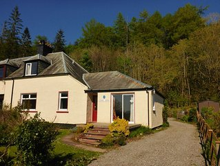 Camus Bhan -A lovely family home in Glencoe with stunning views over Loch Leven.